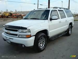2003 summit white chevrolet suburban 1500 z71 4x4 1533607