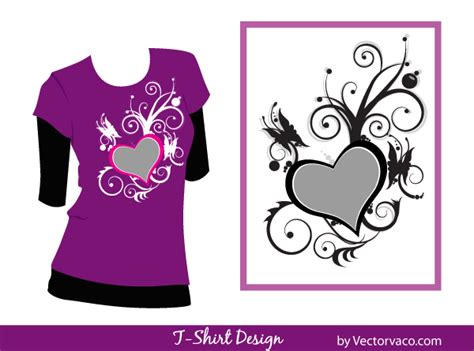 design a shirt online for free free t shirt design floral vector 123freevectors