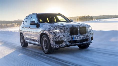 build 2018 bmw x3 2018 bmw x3 spied going all out during nurburgring test