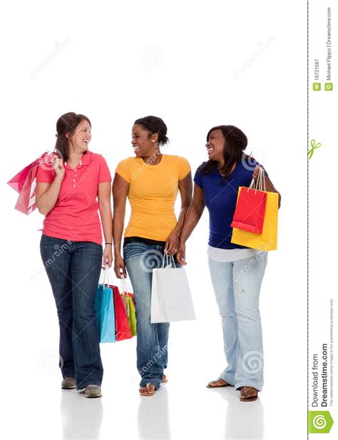 multicultural college students shopping royalty