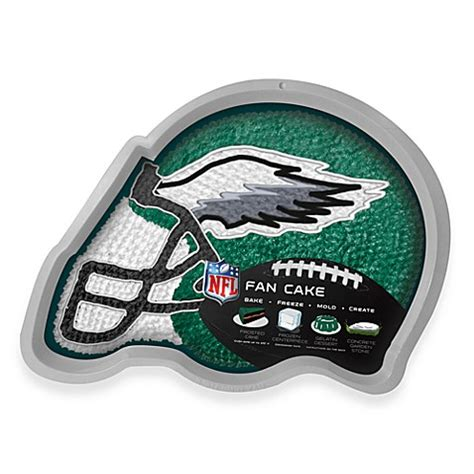 philadelphia eagles fan shop nfl philadelphia eagles fan cake silicone cake pan bed