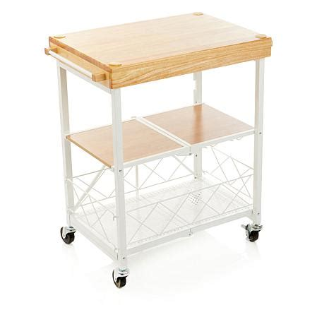 Origami Cart - origami entertaining cart 8495590 hsn