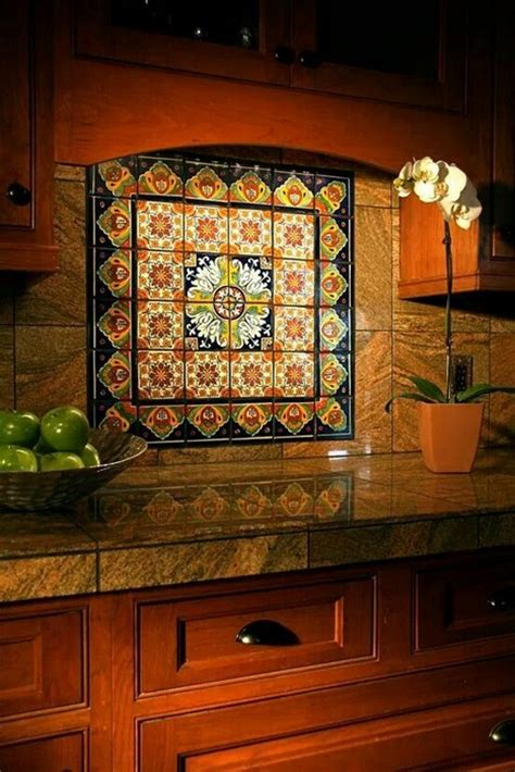 mexican talavera tile    messagenote