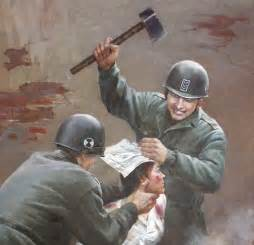 a in a sadistic world the words that got me through books korea s gruesome propaganda posters portray us