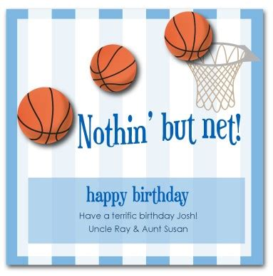 Basketball Birthday Cards Printable Basketball Birthday Card Template
