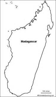 outline map madagascar enchantedlearning com