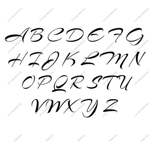 stencil lettere fancy letter stencils docoments ojazlink