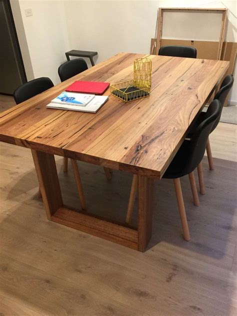 custom hardwood dining tables 17 best ideas about timber furniture on