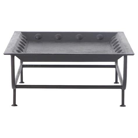 metal tray coffee table frank global bazaar rivet accent metal tray coffee table