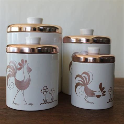 canisters kitchen decor 133 best rooster canisters images on rooster