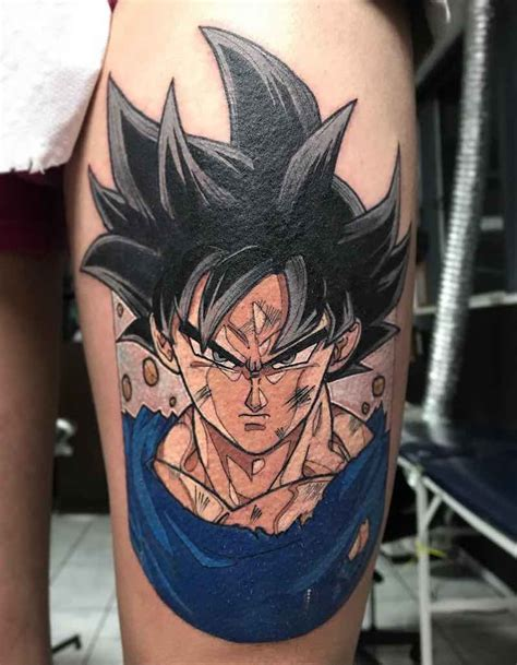 goku tattoos the best z tattoos insider