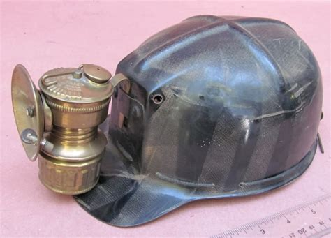 miners lights for hard hats www antiqbuyer com antique mine lighting past sales archive