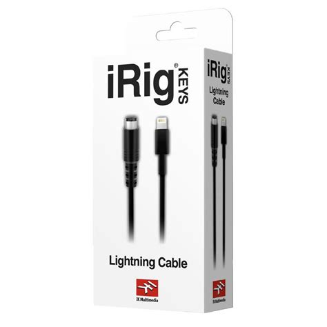 Ik Multimedia Irig With Lightning 1 lightning cable ikmultimedia lightning to mini din cable