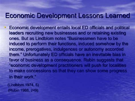Mba Economic Development by Duluth Economic Development Policy Presentation
