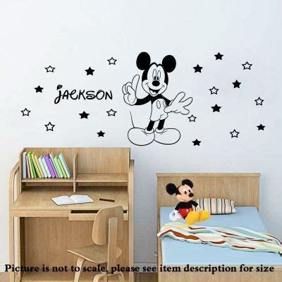 mickey mouse bedroom stickers best 317 wall art stickers decal stencil mural for wall