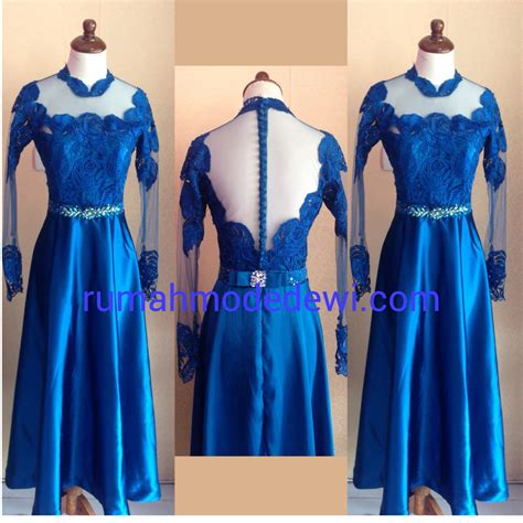 Moda Batik Dress Biru the gallery for gt kebaya modern