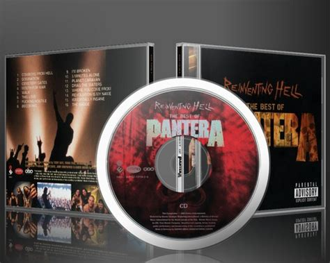 Pantera Reinventing The Steel Japan Pressing riddle of steel metal pantera reinventing hell the best of pantera 2003