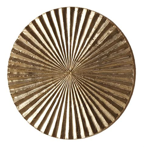 metallic wall decor apollo metallic silver modern wood circle wall decor