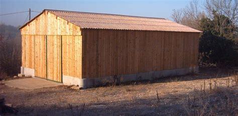hangar bois en kit hangar de stockage paille ou foin ou mat 233 riel roin 233