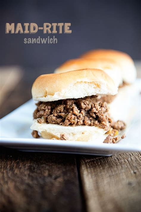 Maid Rite On Pinterest | this delicious loose meat sandwich will quickly become a