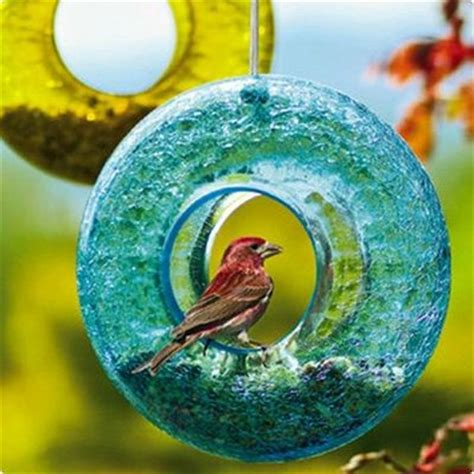 7 Pretty Bird Feeders by Glass Bird Feeder Pretty Birds Juxtapost