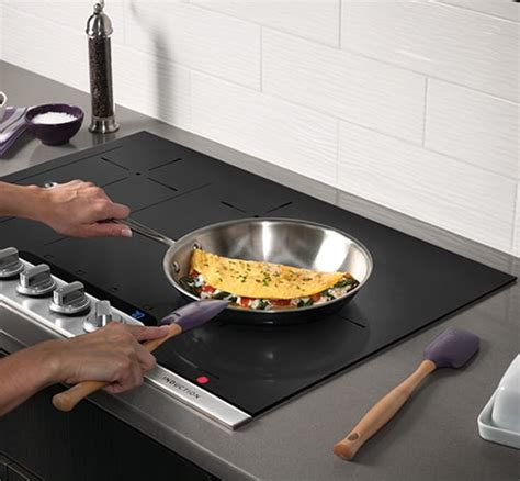 induction stove features frigidaire professional 30 induction cooktop stainless steel fpic3077rf