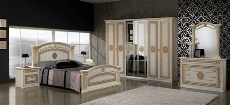ivory bedroom set esf alexandra ivory queen bedroom set