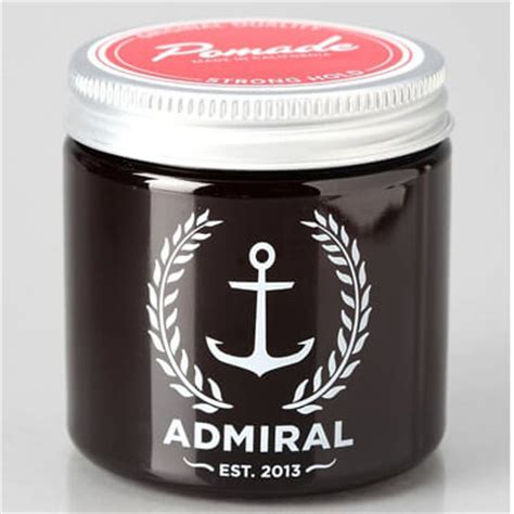 Pomade Admiral top 10 best hair pomade brands 2015