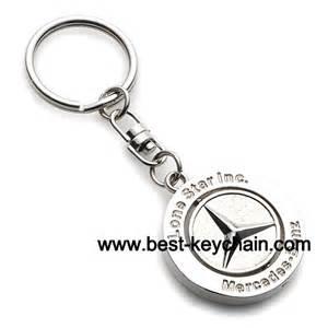Mercedes Chain Promotion Mercedes Metal Keyring Auto Logo Key Ring