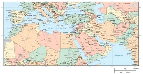 middle east mediterranean map middle east and africa map middle east
