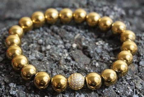 mens gold bead bracelet 63 diy patterns and ideas to make beaded bracelets