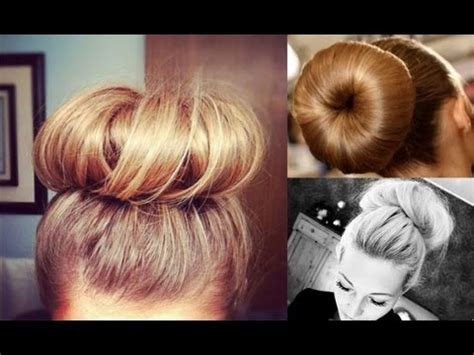 How To Do Messy Buns For Thin Hair