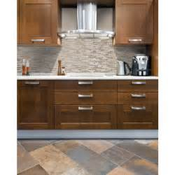 Self Stick Kitchen Backsplash by Smart Tiles Sm1043 1 Quot Bellagio Sabbia Quot Self Adhesive