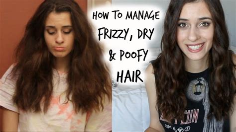 what to do if i have long frizzy hair and want to cut it short how to manage curly frizzy poofy hair my hair care