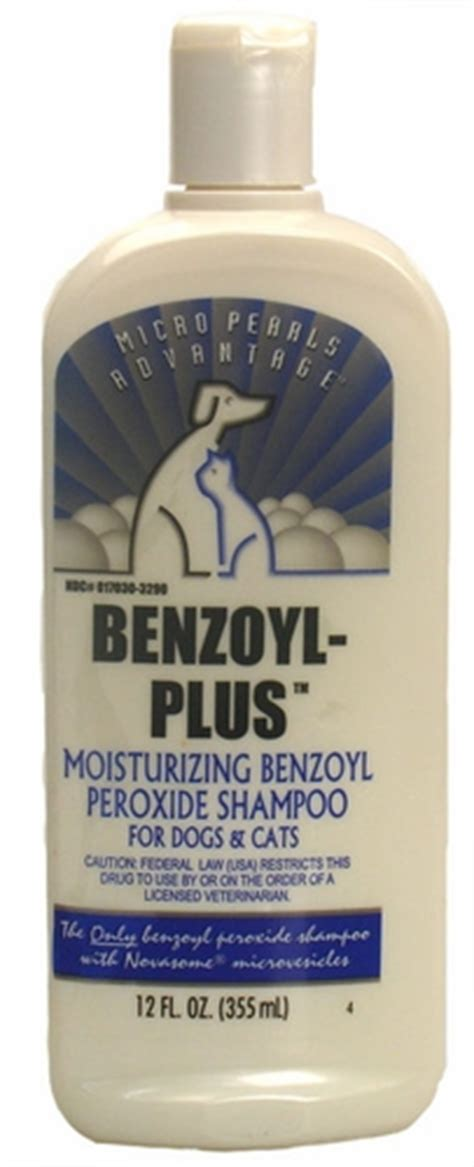 is peroxide safe for dogs micro pearls benzoyl plus peroxide shoo for dogs and cats 12 oz