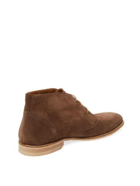 Handmade Chukka Boots - handmade s brown chukka boot mens suede leather boots