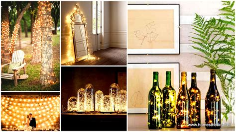 home decorating lights 23 mesmerizing starry string light projects for a magical
