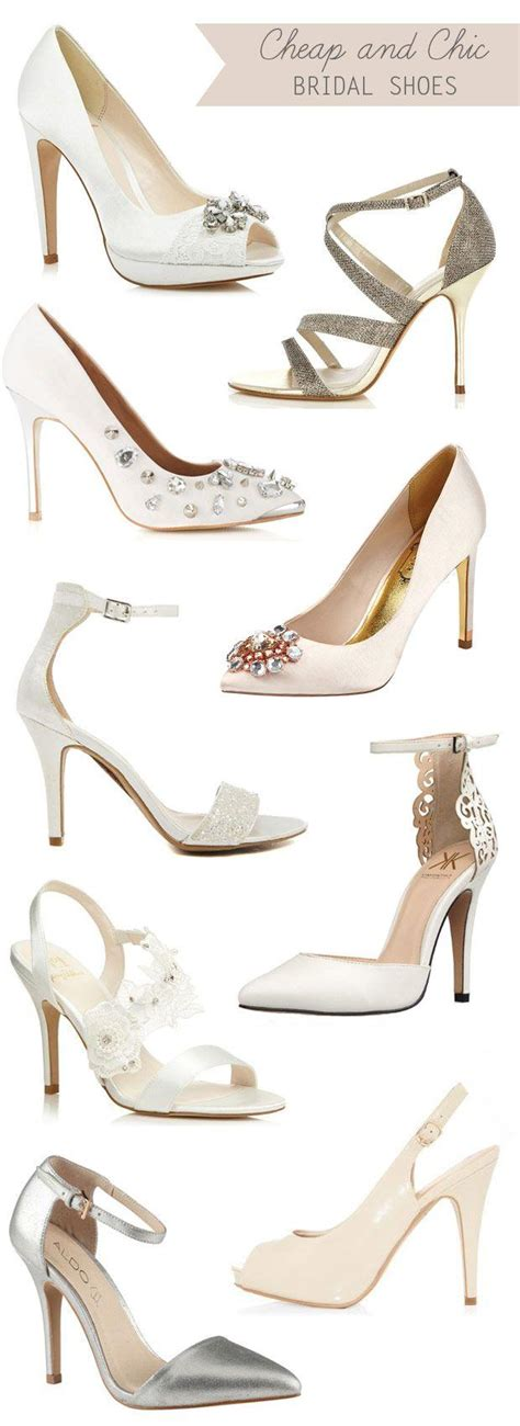 Wedding Shoes On A Budget by Cheap And Chic Bridal Shoes On A Budget 2035326 Weddbook