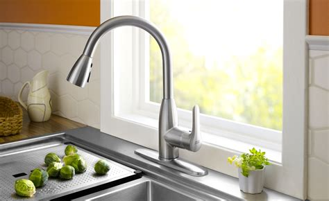 american standard  colony soft pull  kitchen faucet matte black touch