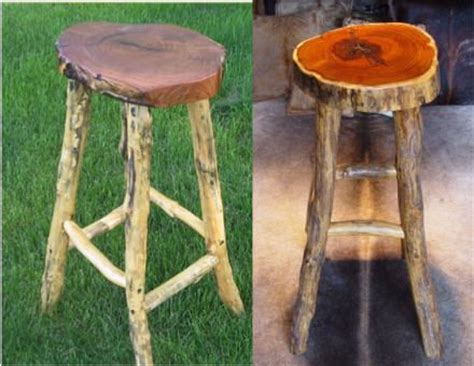 Rustic Bar Stool Plans by Wood Shop Stool Plans Woodworking Projects Plans