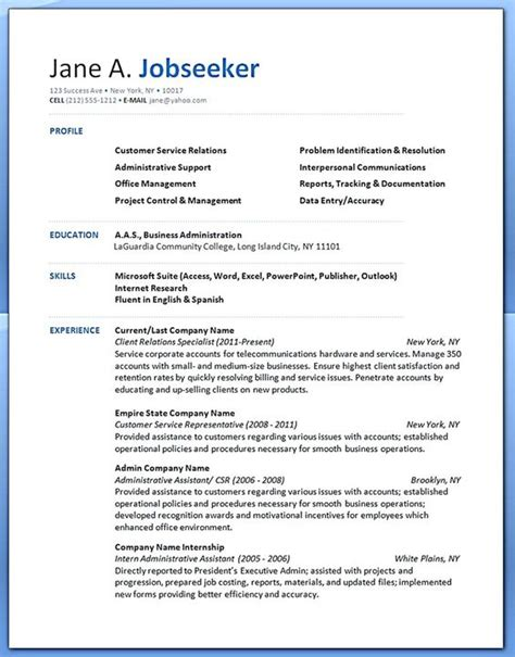 customer service resume resume exles and customer service on