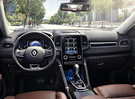 renault koleos 2016 interior renault koleos motormundial