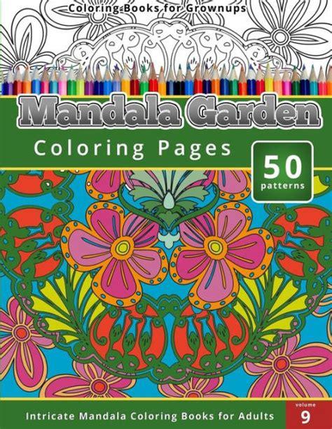 mandala coloring books barnes and noble coloring books for grown ups mandala garden coloring pages