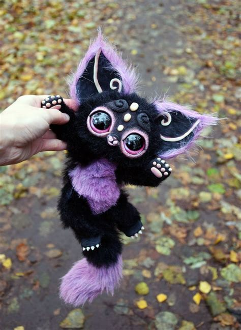doll creature gakman creatures living doll and fur fabric