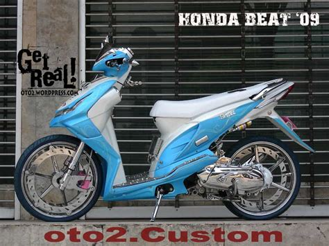 Gambar Modifikasi Motor Honda Beat by Gambar Modifikasi Honda Beat Foto Modifikasi Honda Beat