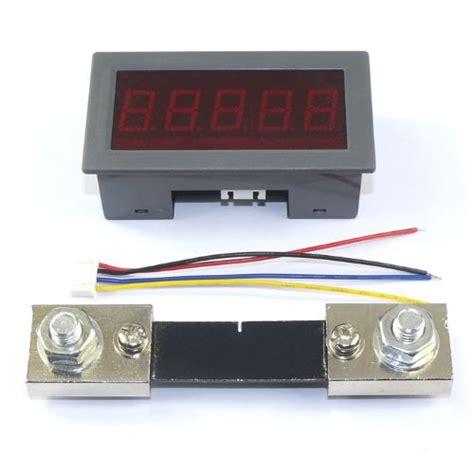 shunt resistor led drok 100a digital led ammeter dc ere meter current shunt resistor