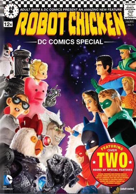 film robot chicken robot chicken dc comics special tv 2012 filmaffinity