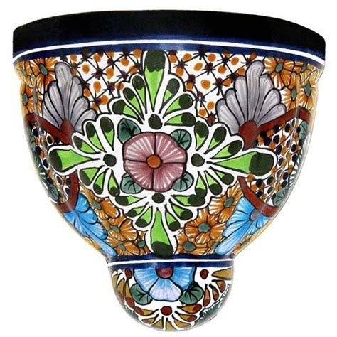 Mexican Wall Planters talavera wall planters collection talavera wall planter twp160