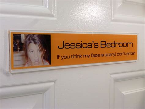 funny bedroom door signs 1000 images about door signs orange on pinterest