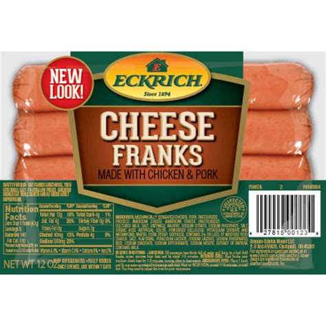 Sosi Beef Frank Cheese eckrich franks cheese franks